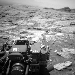 Nasa's Mars rover Curiosity acquired this image using its Left Navigation Camera on Sol 3086, at drive 2400, site number 87