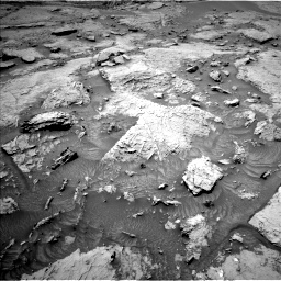 Nasa's Mars rover Curiosity acquired this image using its Left Navigation Camera on Sol 3086, at drive 2424, site number 87