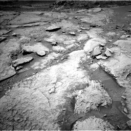 Nasa's Mars rover Curiosity acquired this image using its Left Navigation Camera on Sol 3086, at drive 2448, site number 87