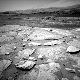 Nasa's Mars rover Curiosity acquired this image using its Left Navigation Camera on Sol 3086, at drive 2478, site number 87