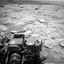 Nasa's Mars rover Curiosity acquired this image using its Left Navigation Camera on Sol 3086, at drive 2496, site number 87
