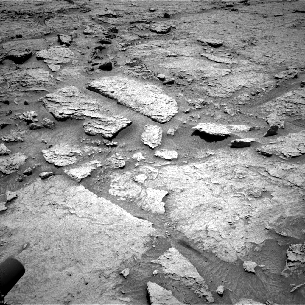 Nasa's Mars rover Curiosity acquired this image using its Left Navigation Camera on Sol 3086, at drive 2502, site number 87