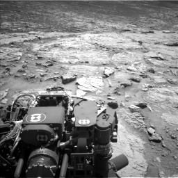 Nasa's Mars rover Curiosity acquired this image using its Left Navigation Camera on Sol 3086, at drive 2514, site number 87