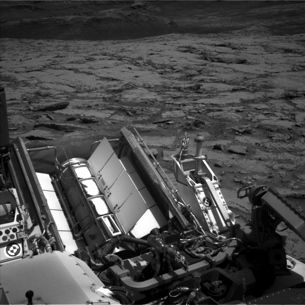 Nasa's Mars rover Curiosity acquired this image using its Left Navigation Camera on Sol 3086, at drive 2536, site number 87