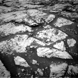 Nasa's Mars rover Curiosity acquired this image using its Right Navigation Camera on Sol 3086, at drive 2232, site number 87