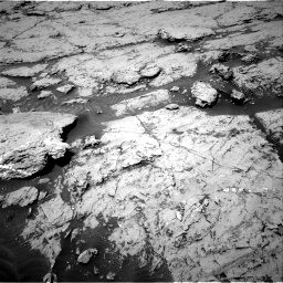 Nasa's Mars rover Curiosity acquired this image using its Right Navigation Camera on Sol 3086, at drive 2250, site number 87