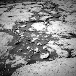 Nasa's Mars rover Curiosity acquired this image using its Right Navigation Camera on Sol 3086, at drive 2346, site number 87