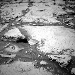 Nasa's Mars rover Curiosity acquired this image using its Right Navigation Camera on Sol 3086, at drive 2370, site number 87