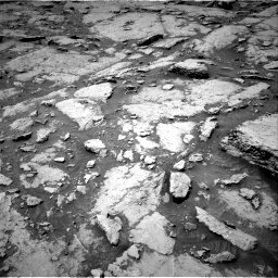 Nasa's Mars rover Curiosity acquired this image using its Right Navigation Camera on Sol 3086, at drive 2382, site number 87
