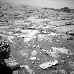 Nasa's Mars rover Curiosity acquired this image using its Right Navigation Camera on Sol 3086, at drive 2400, site number 87