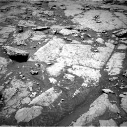Nasa's Mars rover Curiosity acquired this image using its Right Navigation Camera on Sol 3086, at drive 2406, site number 87