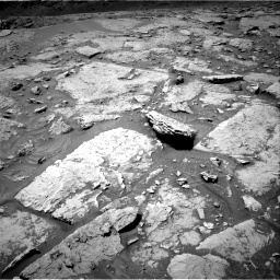 Nasa's Mars rover Curiosity acquired this image using its Right Navigation Camera on Sol 3086, at drive 2412, site number 87