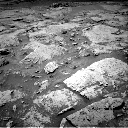 Nasa's Mars rover Curiosity acquired this image using its Right Navigation Camera on Sol 3086, at drive 2418, site number 87