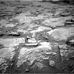 Nasa's Mars rover Curiosity acquired this image using its Right Navigation Camera on Sol 3086, at drive 2430, site number 87