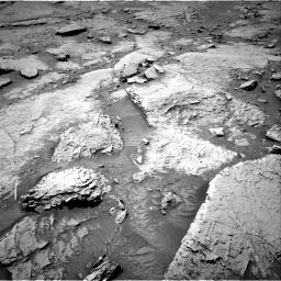 Nasa's Mars rover Curiosity acquired this image using its Right Navigation Camera on Sol 3086, at drive 2442, site number 87
