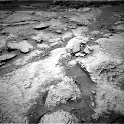 Nasa's Mars rover Curiosity acquired this image using its Right Navigation Camera on Sol 3086, at drive 2448, site number 87