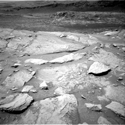 Nasa's Mars rover Curiosity acquired this image using its Right Navigation Camera on Sol 3086, at drive 2484, site number 87