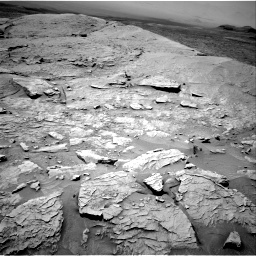 Nasa's Mars rover Curiosity acquired this image using its Right Navigation Camera on Sol 3086, at drive 2502, site number 87