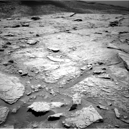 Nasa's Mars rover Curiosity acquired this image using its Right Navigation Camera on Sol 3086, at drive 2508, site number 87