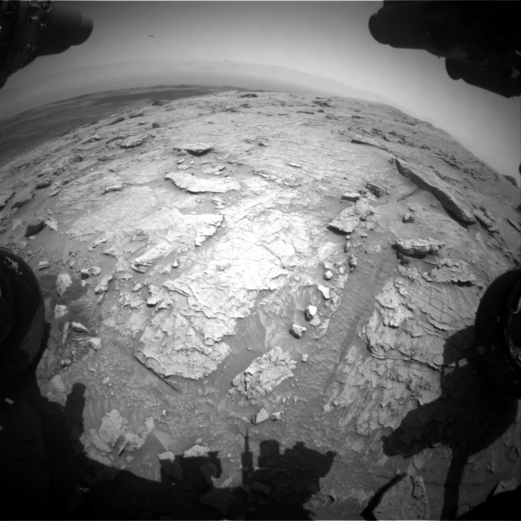 Nasa's Mars rover Curiosity acquired this image using its Front Hazard Avoidance Camera (Front Hazcam) on Sol 3087, at drive 2536, site number 87