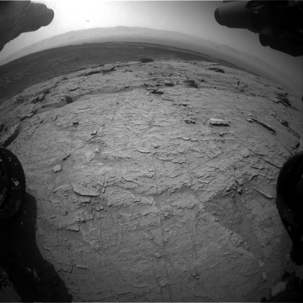 Nasa's Mars rover Curiosity acquired this image using its Front Hazard Avoidance Camera (Front Hazcam) on Sol 3088, at drive 2578, site number 87