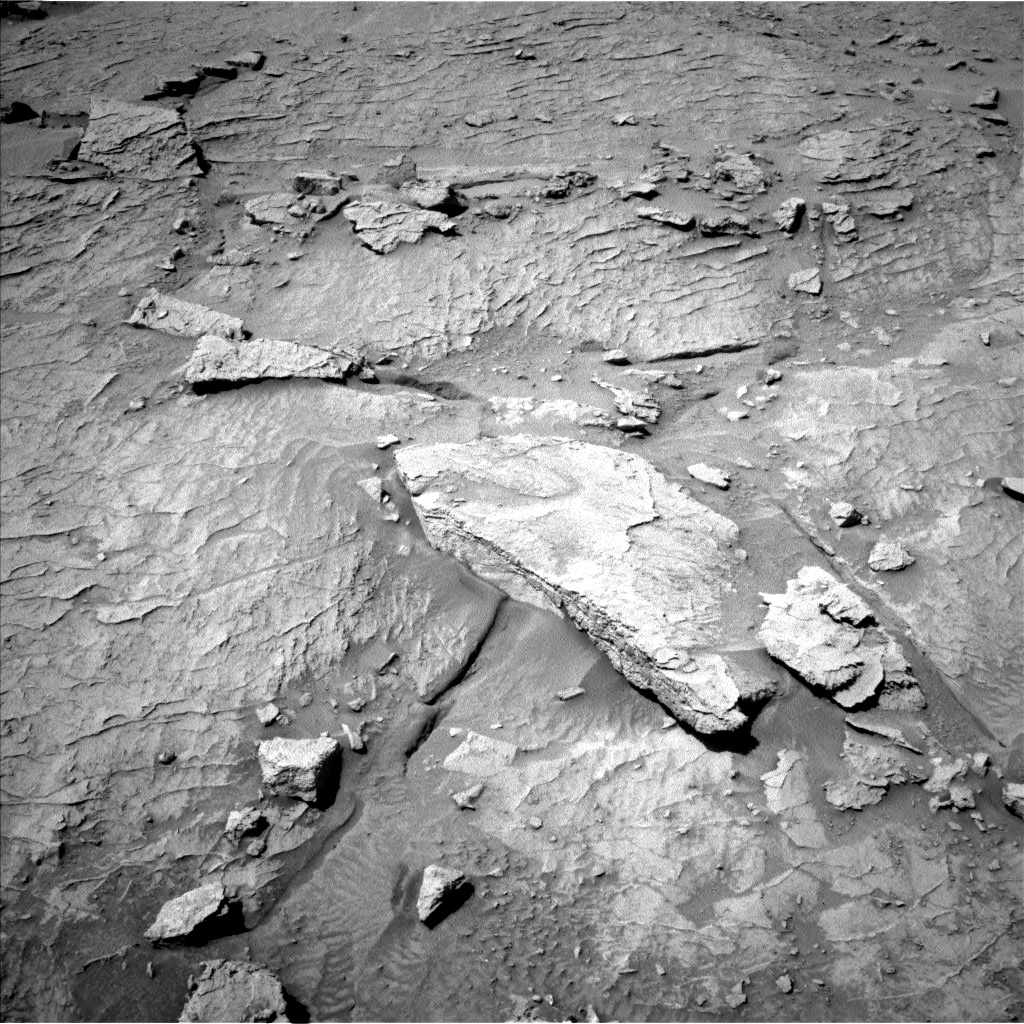 Nasa's Mars rover Curiosity acquired this image using its Left Navigation Camera on Sol 3088, at drive 2536, site number 87