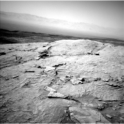 Nasa's Mars rover Curiosity acquired this image using its Left Navigation Camera on Sol 3088, at drive 2542, site number 87
