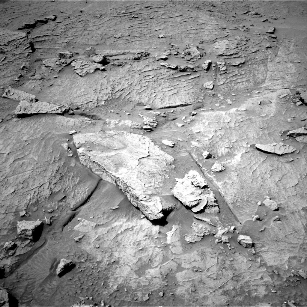 Nasa's Mars rover Curiosity acquired this image using its Right Navigation Camera on Sol 3088, at drive 2536, site number 87