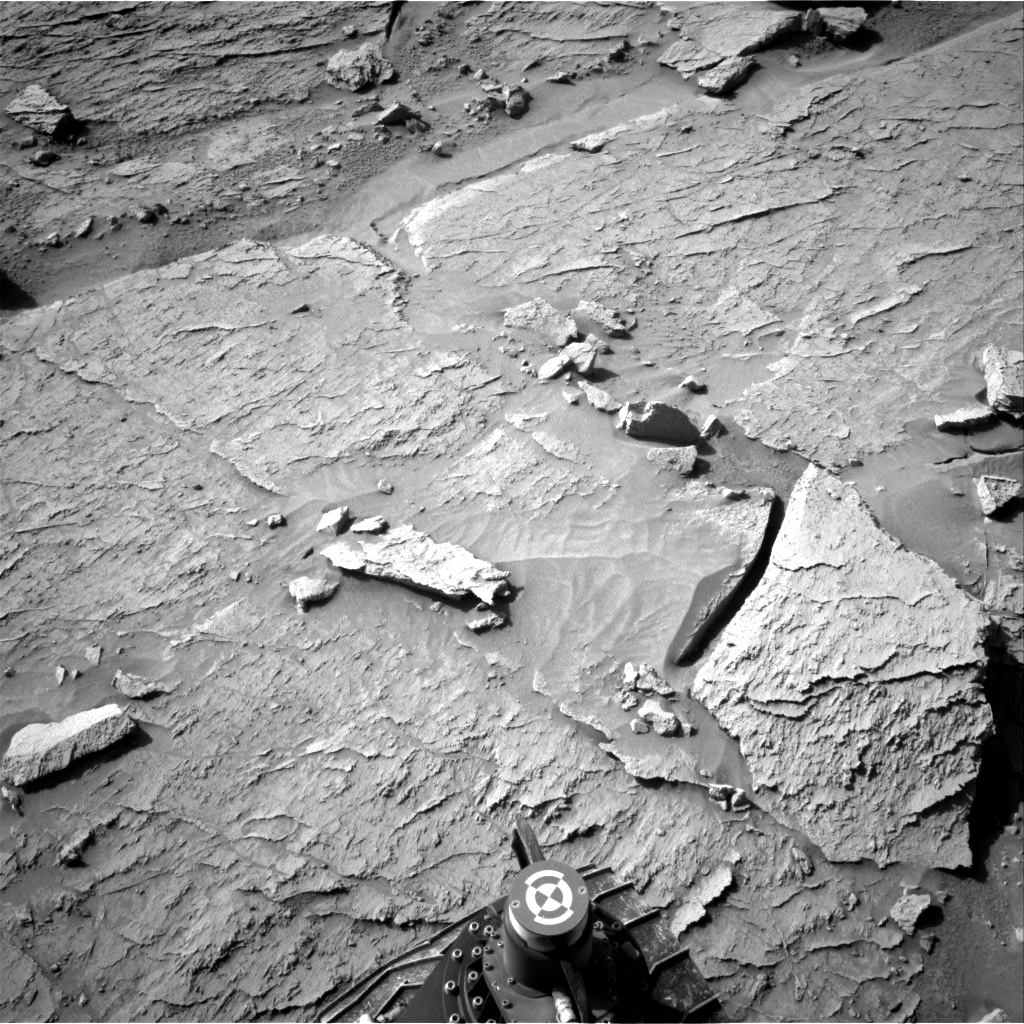 Nasa's Mars rover Curiosity acquired this image using its Right Navigation Camera on Sol 3088, at drive 2578, site number 87
