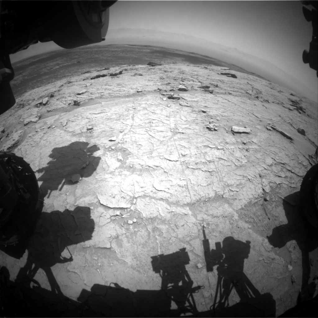 Nasa's Mars rover Curiosity acquired this image using its Front Hazard Avoidance Camera (Front Hazcam) on Sol 3089, at drive 2578, site number 87