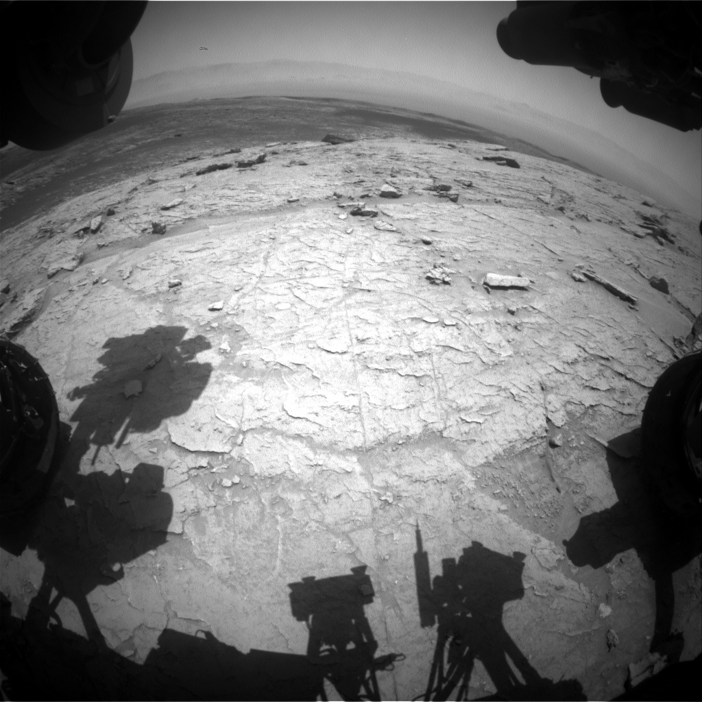 Nasa's Mars rover Curiosity acquired this image using its Front Hazard Avoidance Camera (Front Hazcam) on Sol 3091, at drive 2578, site number 87