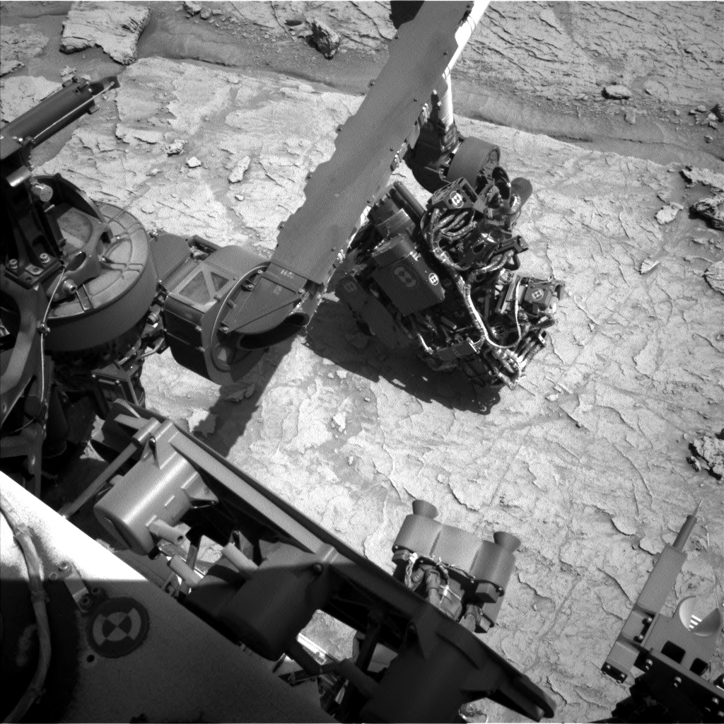 Nasa's Mars rover Curiosity acquired this image using its Left Navigation Camera on Sol 3091, at drive 2578, site number 87