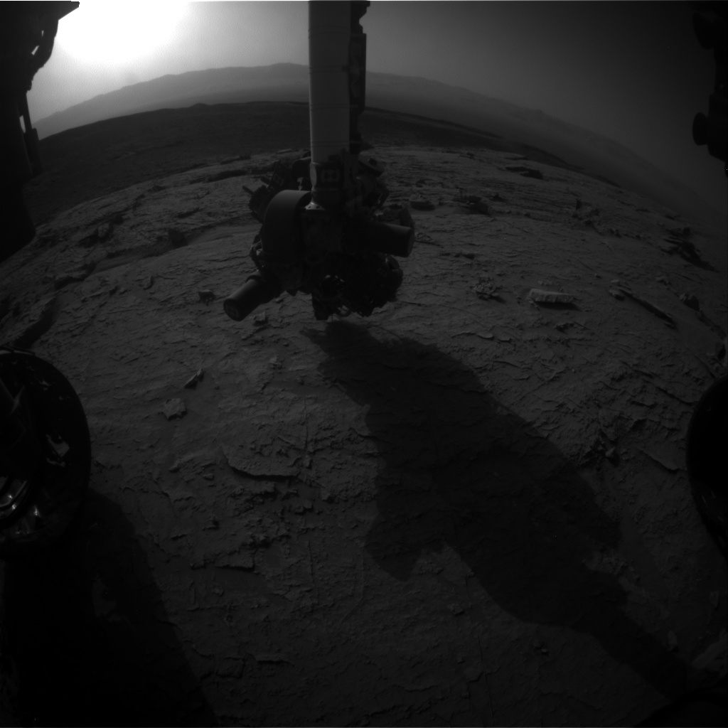 Nasa's Mars rover Curiosity acquired this image using its Front Hazard Avoidance Camera (Front Hazcam) on Sol 3092, at drive 2578, site number 87