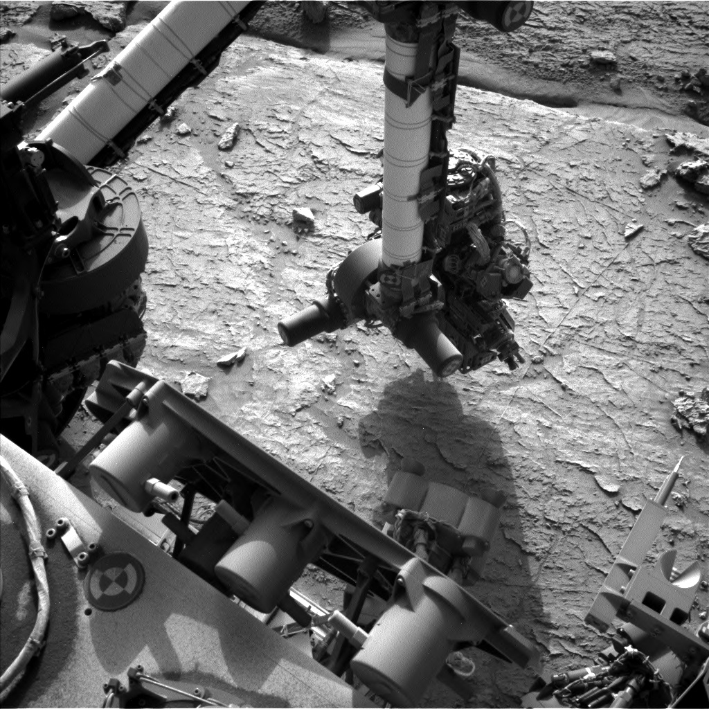 Nasa's Mars rover Curiosity acquired this image using its Left Navigation Camera on Sol 3092, at drive 2578, site number 87