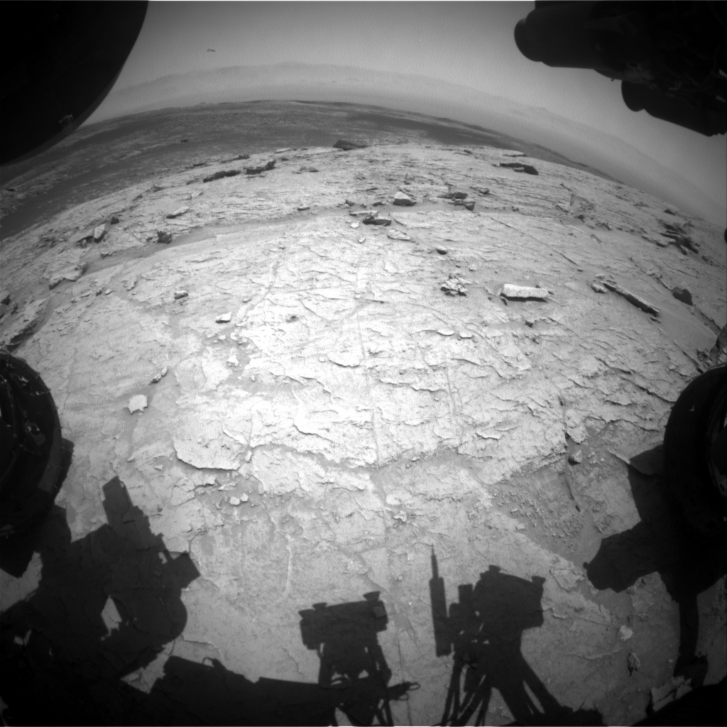 Nasa's Mars rover Curiosity acquired this image using its Front Hazard Avoidance Camera (Front Hazcam) on Sol 3094, at drive 2578, site number 87