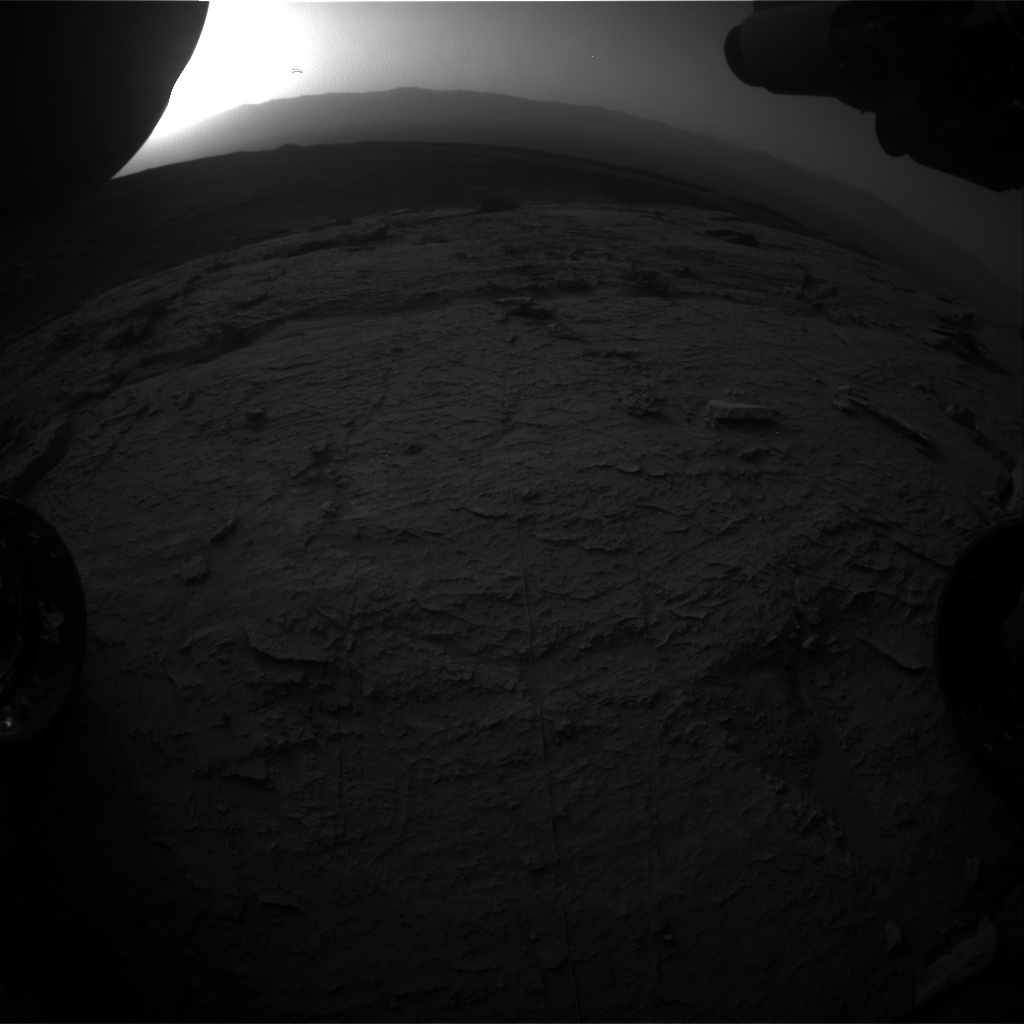 Nasa's Mars rover Curiosity acquired this image using its Front Hazard Avoidance Camera (Front Hazcam) on Sol 3095, at drive 2578, site number 87