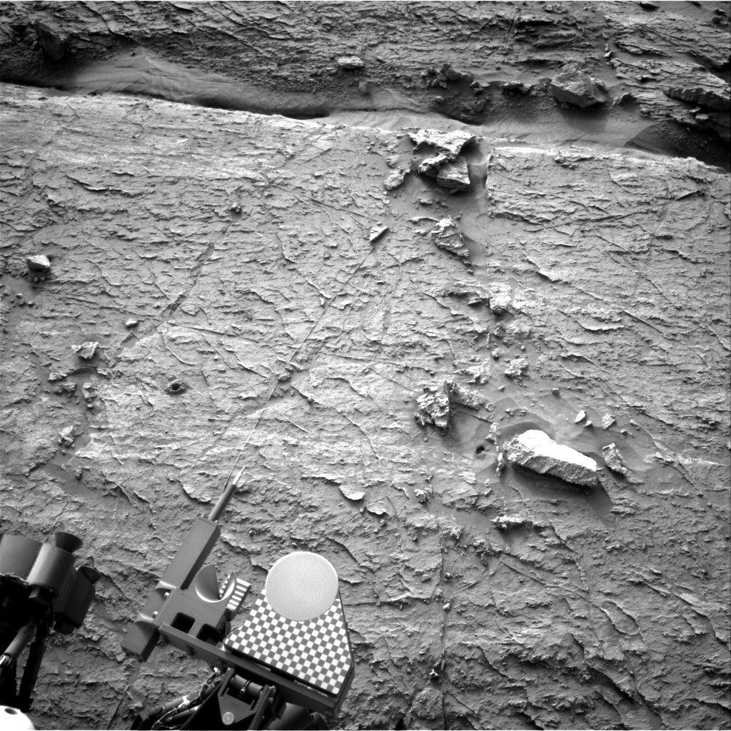 Nasa's Mars rover Curiosity acquired this image using its Right Navigation Camera on Sol 3095, at drive 2578, site number 87