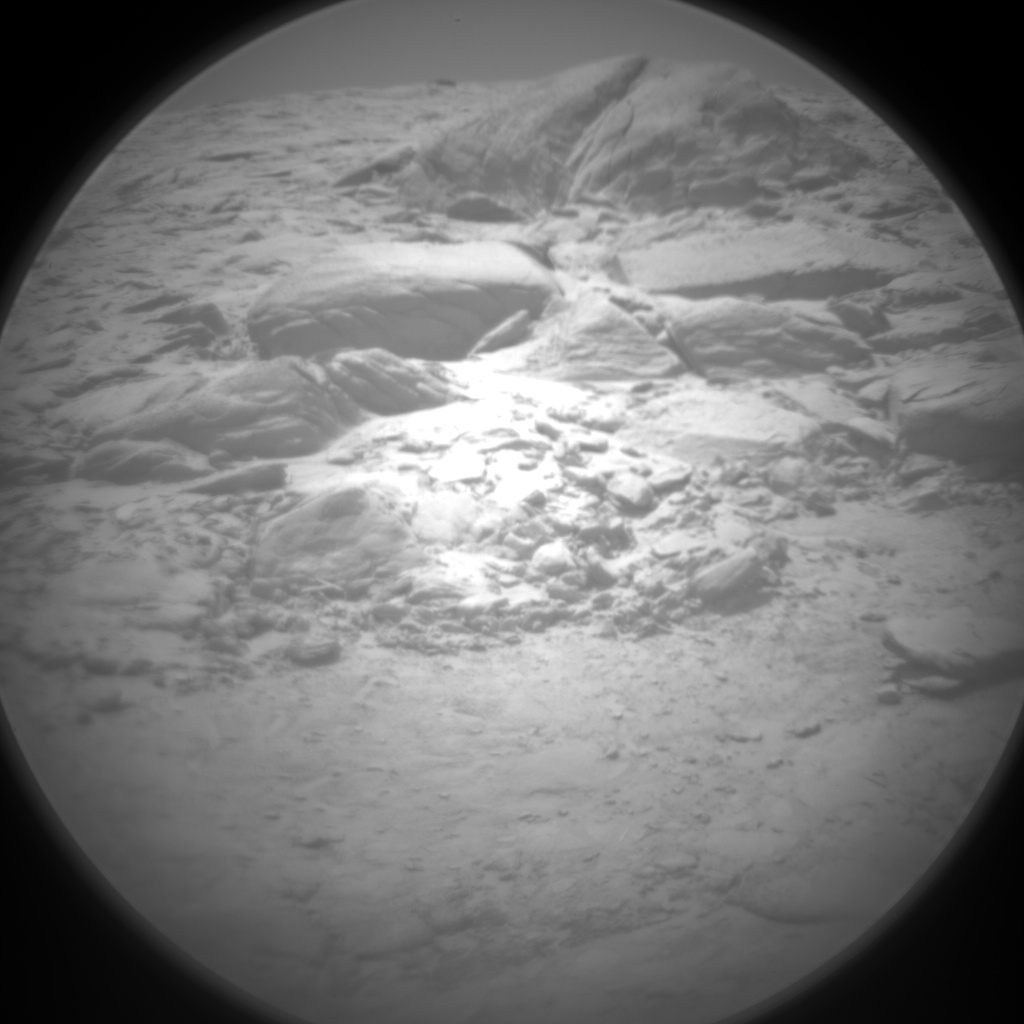 Nasa's Mars rover Curiosity acquired this image using its Chemistry & Camera (ChemCam) on Sol 3096, at drive 2578, site number 87