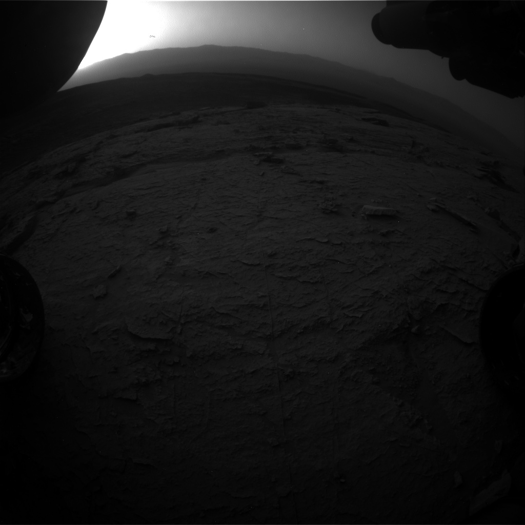 Nasa's Mars rover Curiosity acquired this image using its Front Hazard Avoidance Camera (Front Hazcam) on Sol 3096, at drive 2578, site number 87