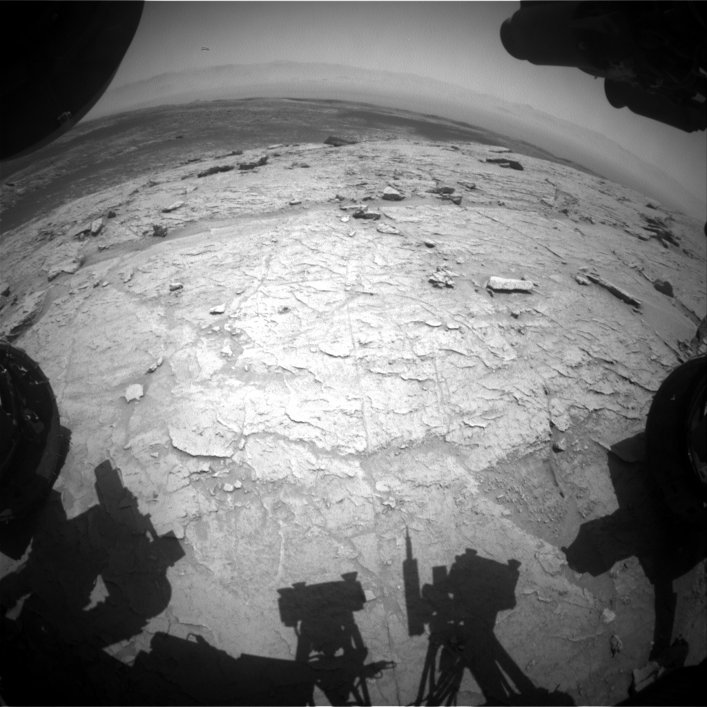 Nasa's Mars rover Curiosity acquired this image using its Front Hazard Avoidance Camera (Front Hazcam) on Sol 3097, at drive 2578, site number 87
