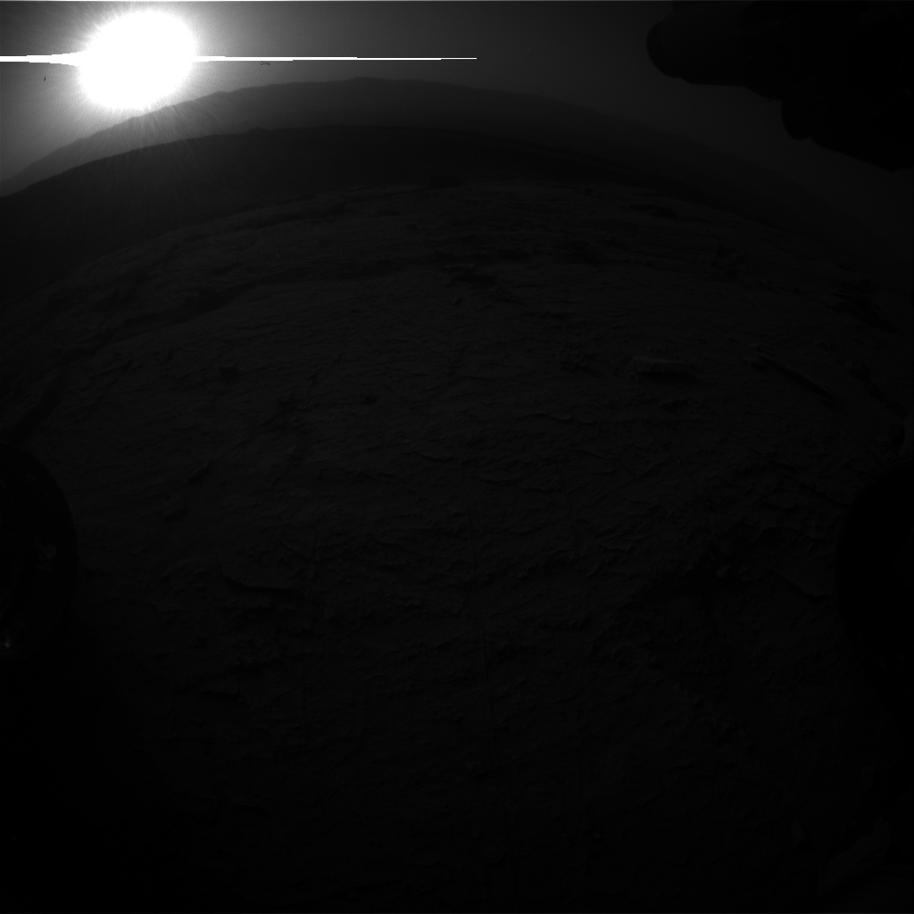 Nasa's Mars rover Curiosity acquired this image using its Front Hazard Avoidance Camera (Front Hazcam) on Sol 3098, at drive 2578, site number 87