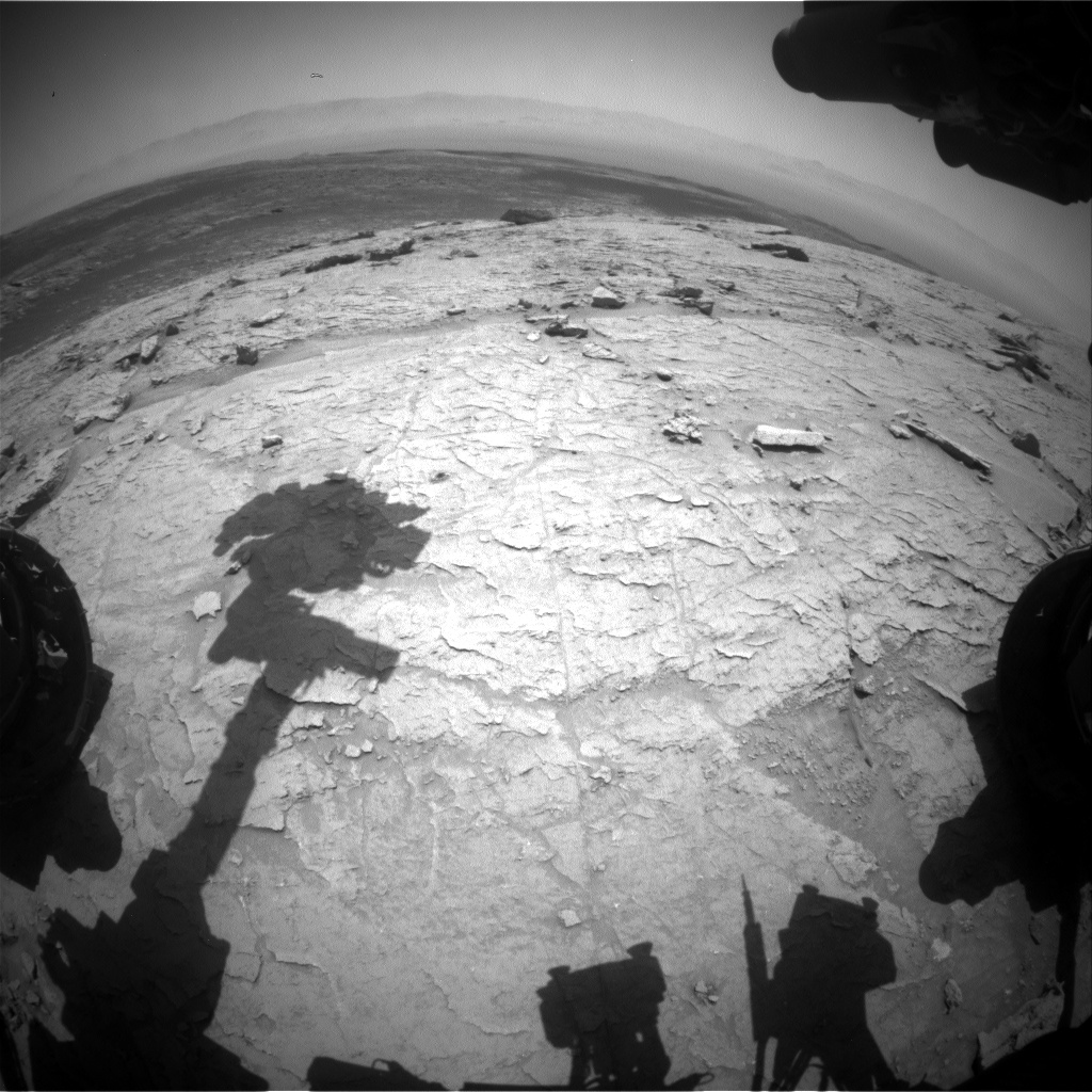 Nasa's Mars rover Curiosity acquired this image using its Front Hazard Avoidance Camera (Front Hazcam) on Sol 3099, at drive 2578, site number 87