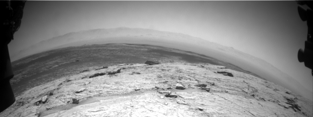 Nasa's Mars rover Curiosity acquired this image using its Front Hazard Avoidance Camera (Front Hazcam) on Sol 3100, at drive 2578, site number 87