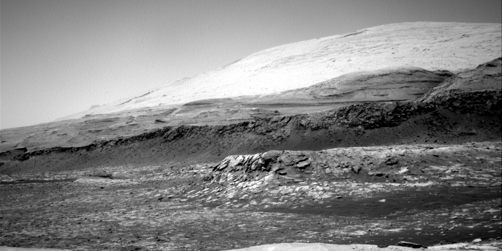 Nasa's Mars rover Curiosity acquired this image using its Right Navigation Camera on Sol 3100, at drive 2578, site number 87