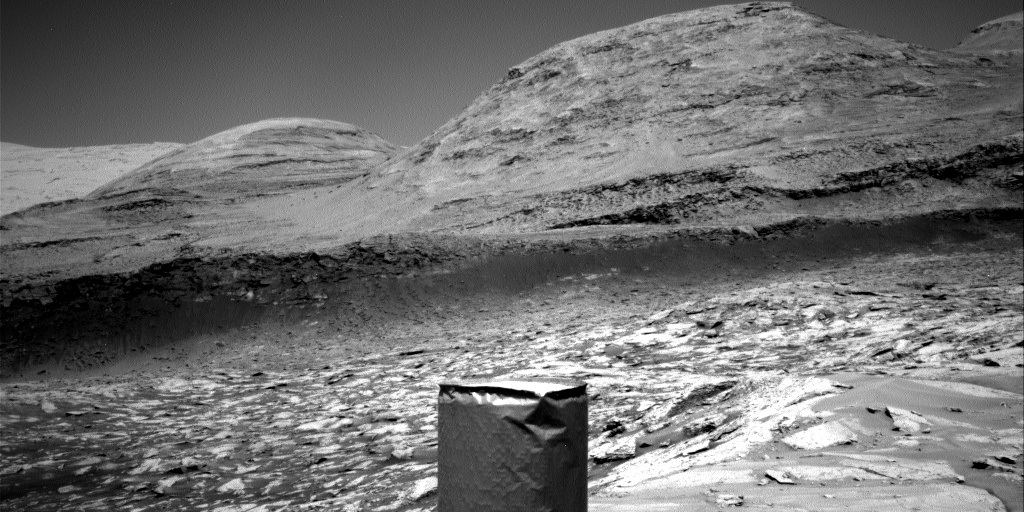 Nasa's Mars rover Curiosity acquired this image using its Right Navigation Camera on Sol 3101, at drive 2578, site number 87