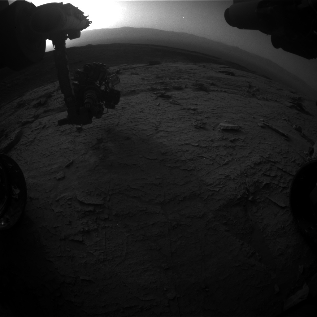 Nasa's Mars rover Curiosity acquired this image using its Front Hazard Avoidance Camera (Front Hazcam) on Sol 3102, at drive 2578, site number 87