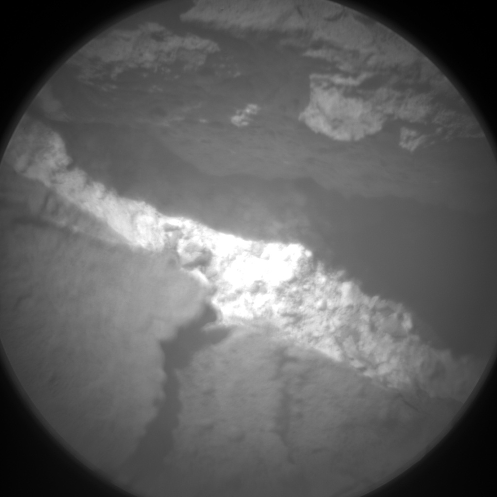Nasa's Mars rover Curiosity acquired this image using its Chemistry & Camera (ChemCam) on Sol 3103, at drive 2578, site number 87