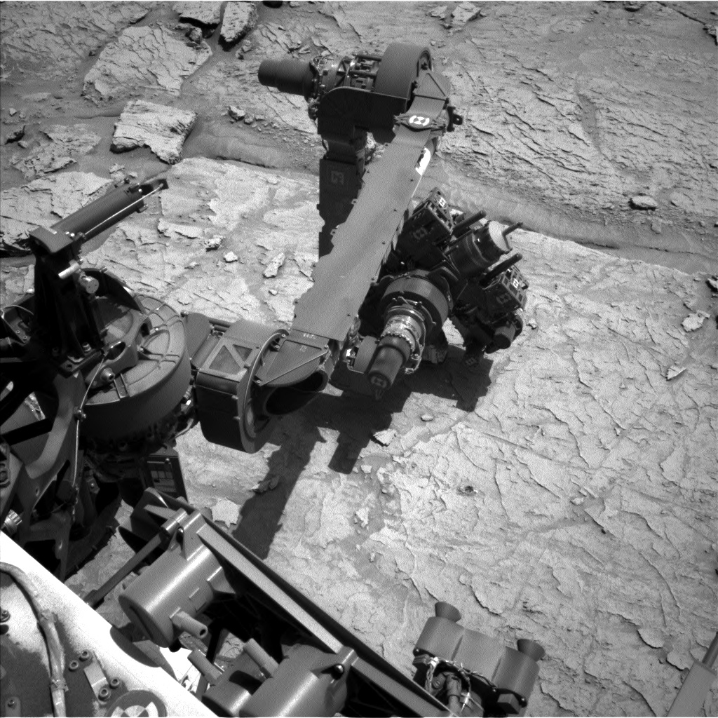 Nasa's Mars rover Curiosity acquired this image using its Left Navigation Camera on Sol 3103, at drive 2578, site number 87