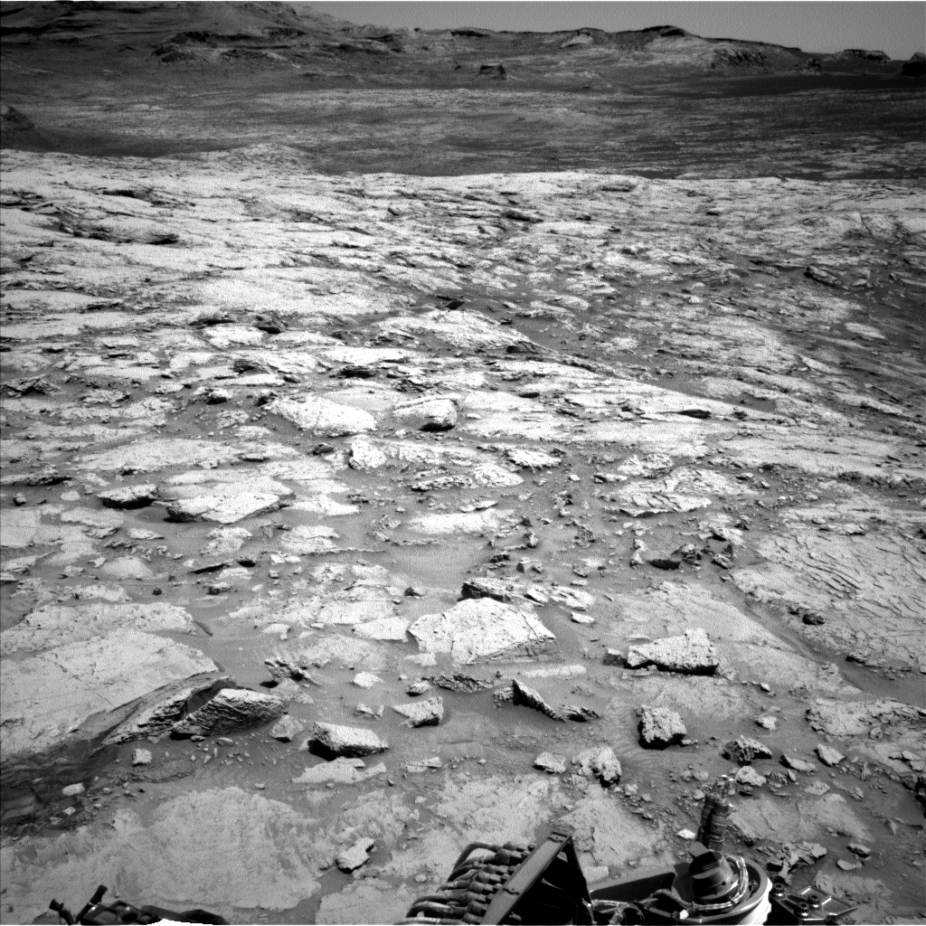 Nasa's Mars rover Curiosity acquired this image using its Left Navigation Camera on Sol 3104, at drive 2578, site number 87