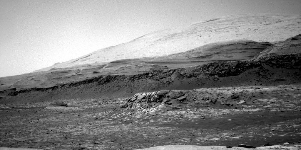Nasa's Mars rover Curiosity acquired this image using its Right Navigation Camera on Sol 3105, at drive 2578, site number 87